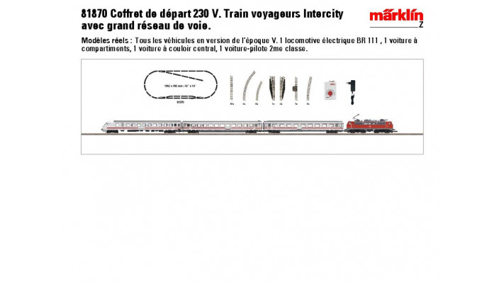 Startpackung Intercity DB