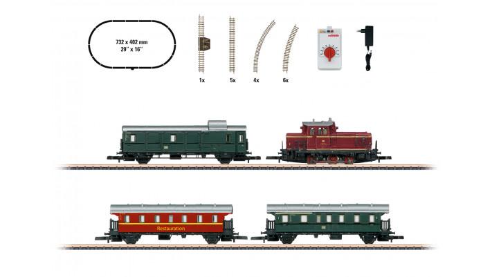 Coffret de départ  Train voyageurs musée  ,  ,époque III-V