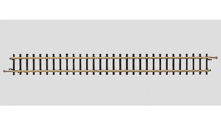 Rail droit 110 mm