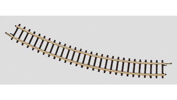 Rail courbe  r195 mm, 30 Gr.