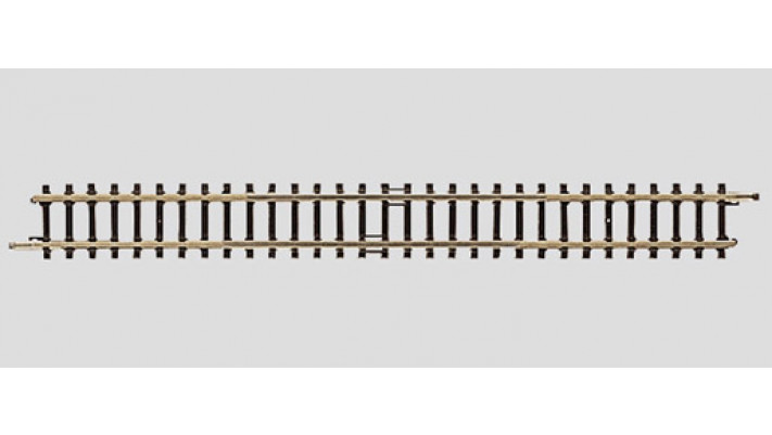 Rail extensible droit 100-120 mm