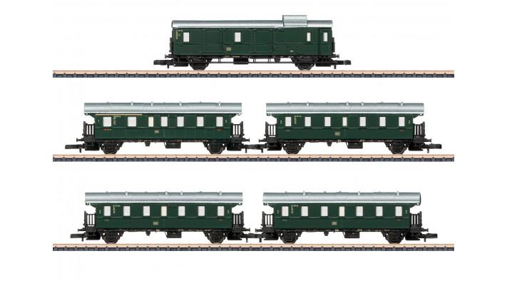 Wagenset Höllentalbahn DB
