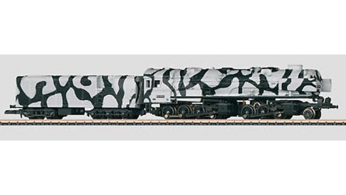 Locomotive Vapeur BR 53 DB, décoration Militaire