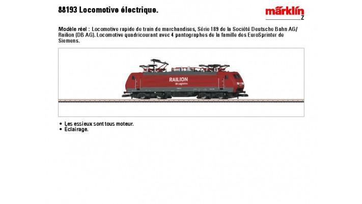 E-Lok BR 189 Raillion