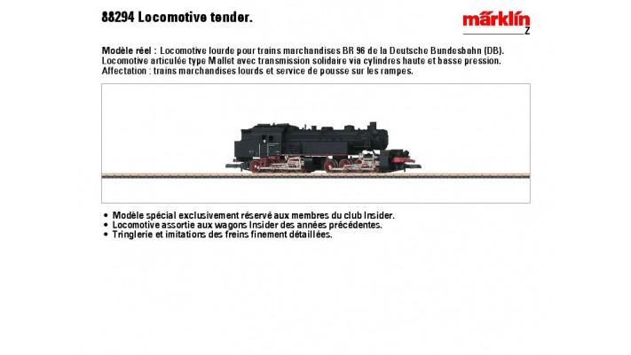 Dampflokomotive BR 96 DB