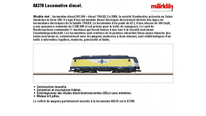 Diesellokomotive BR 246 Metro