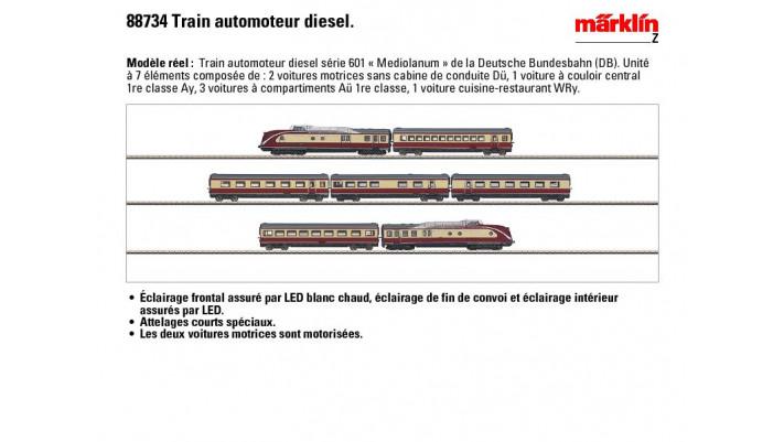 Dieseltriebzug VT 11.5 Mediol