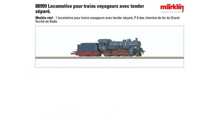 Badische Dampflokomotive P8