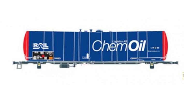 wagon citerne CHEMOIL/ATIR RAIL