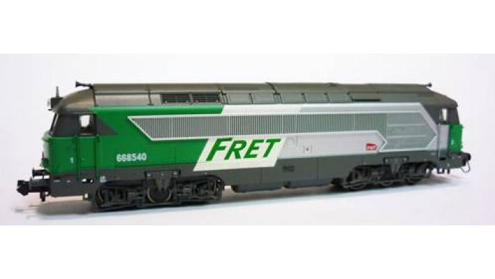68000 Diesel A1A-A1A SNCF - Fret logo casquette