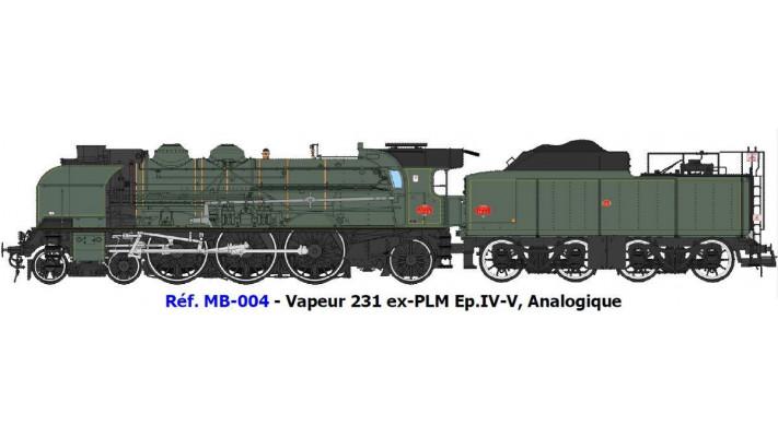 MACHINE 2-231K 8 NORD, CALAIS - Machine préservée Ep.IV-V - DCC Sonori