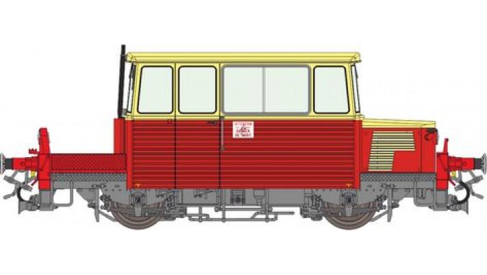 DU65 6 007 Ep.IV-V rouge et crème, toit crème - logo UIC - DCC Sonoris