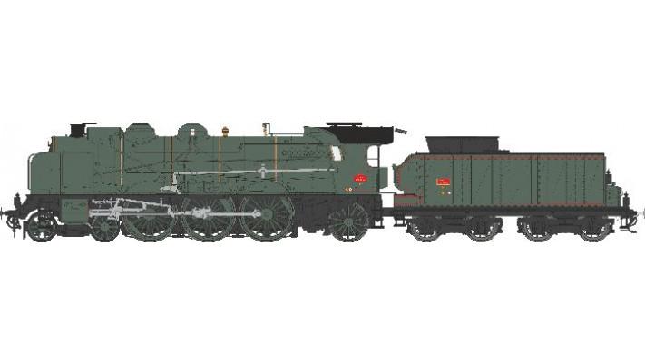 5-231D 71SUD EST LAROCHE Ep.III  SNCF   - DCCSonorisée - Fumée Pulsée