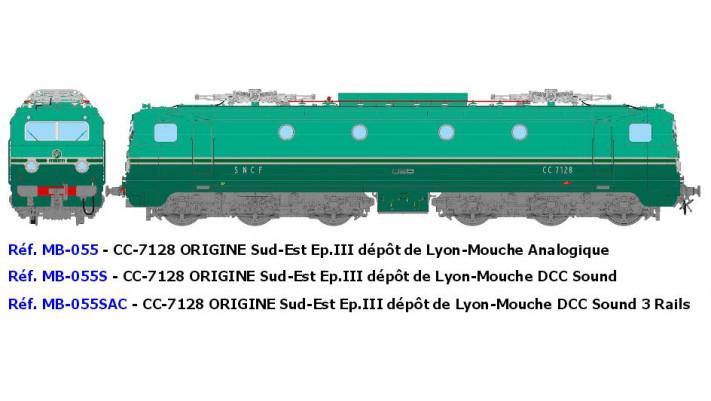 CC-7128 ORIGINESud-Est Ep.III dépôt de Lyon-Mouche - ANALOGIQUE
