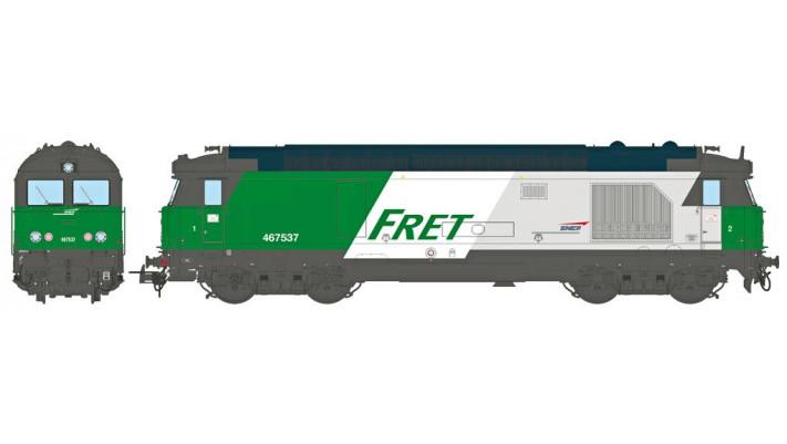 BB 467537, Dépôt de LONGUEAU, FRET Ep.V - DCCSOUND 3 Rails AC