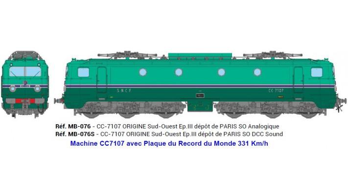 CC-7107 ORIGINE Ep.III - DCCSOUND PANTHO FCT