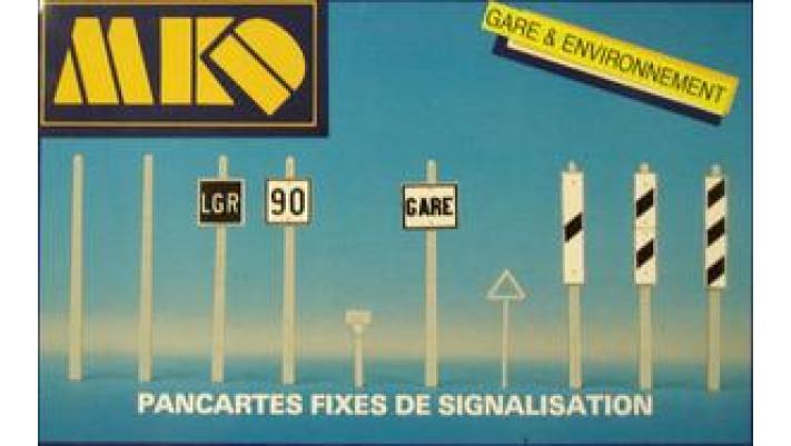 PANCARTES DE SIGNALISATION