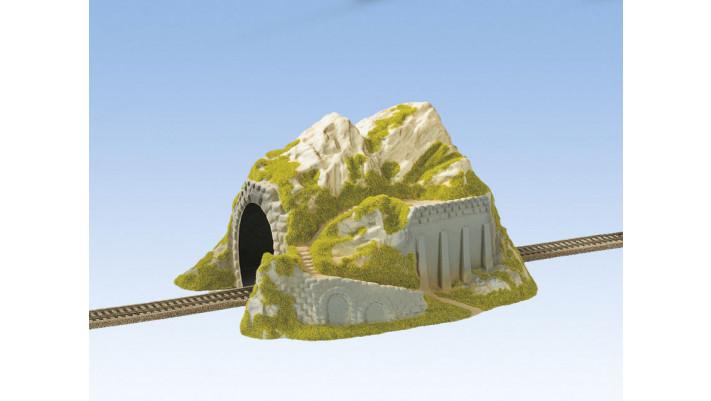 Tunnel Droit, 1 Voie, 34 x 25 cm