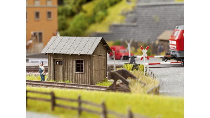 Cabane de bord de voie