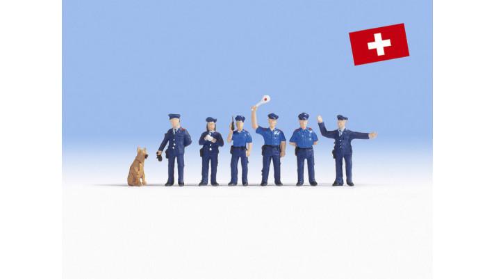 Agents de police suisses
