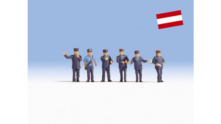 Agents des chemins de fer autrichiens