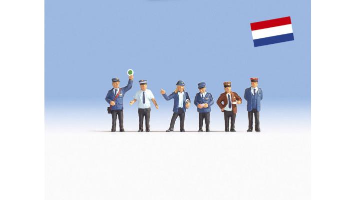 Agents des chemins de fer néerlandais