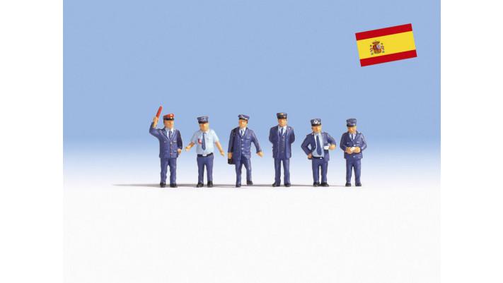 Agents des chemins de fer espagnols