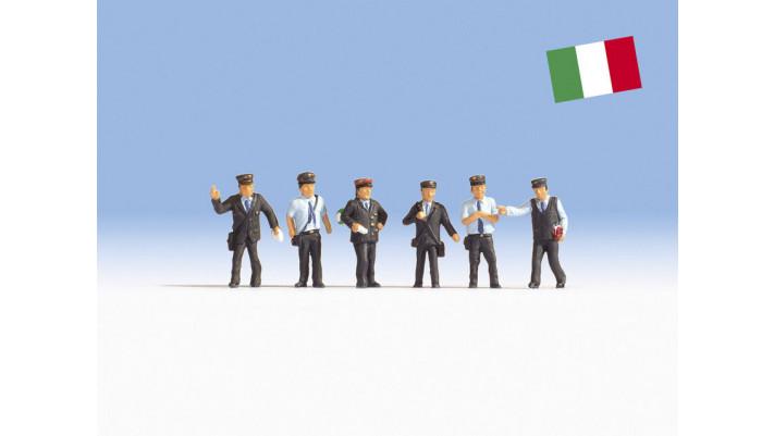 Agents des chemins de fer italiens