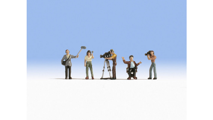 Equipe de cameramen