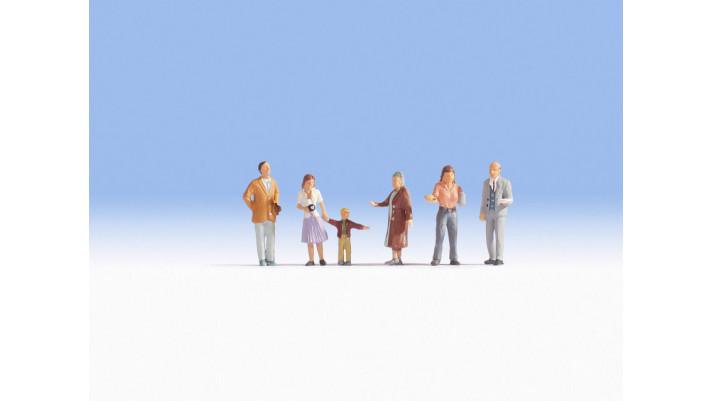 Visiteurs aux fêtes