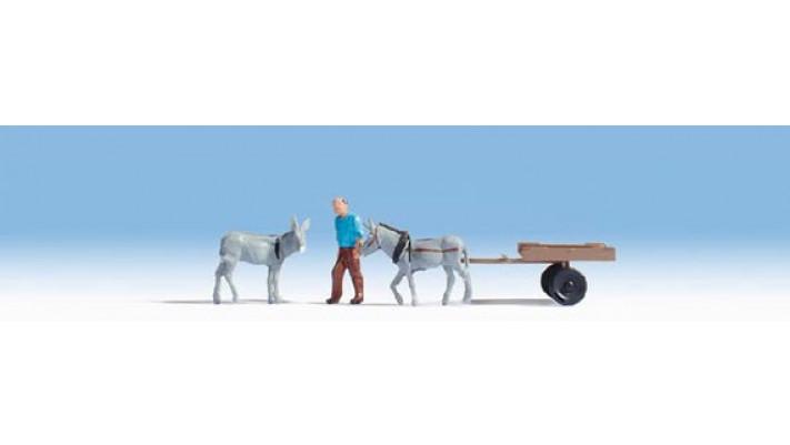 Chariot d'âne