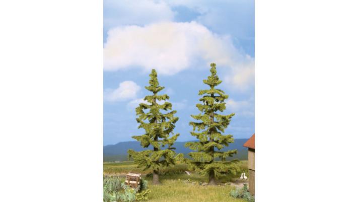 Sapins, 2 pcs., 13 cm + 14,5 cm