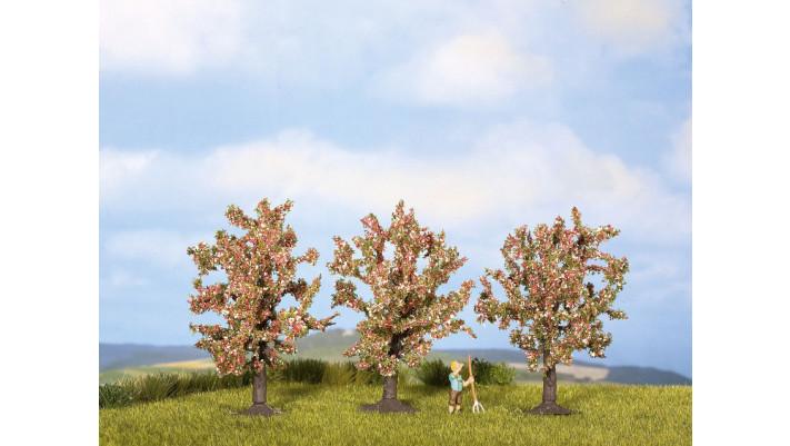 Arbres fruitiers fleuris, rose