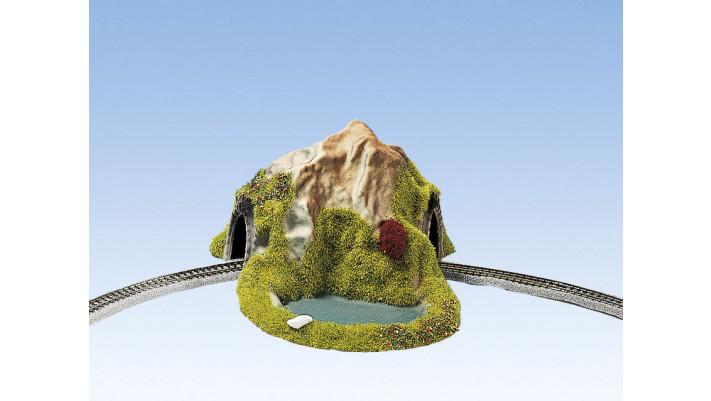 Tunnel Avec virage