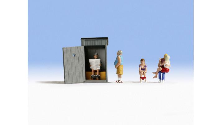 Scènes aux Toilettes