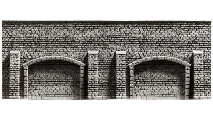Mur d'arcades, 33,4 x 12,5 cm