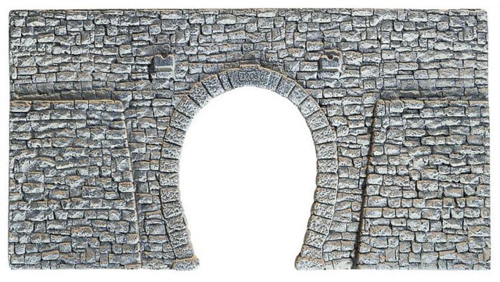 Portail de Tunnel, 1 voie, 23,5 x 13 cm