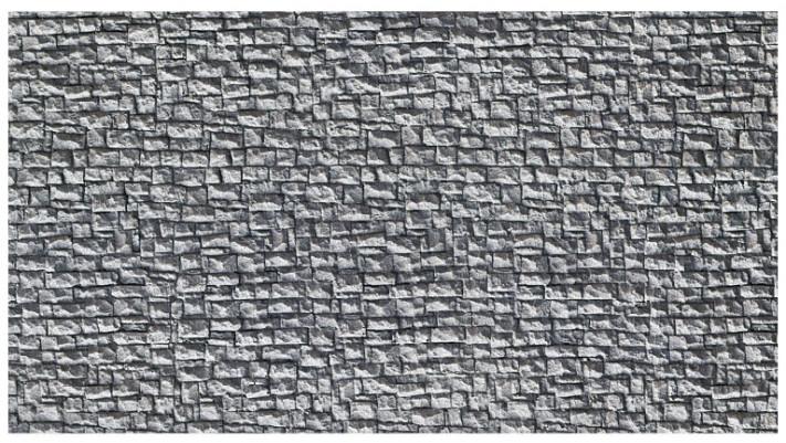 Mur de Moellons, 23,5 x 12,5 cm