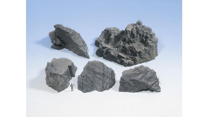 Pièces de rochers Granit