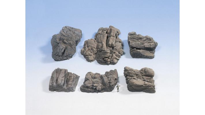 Pièces de rochers  Grès
