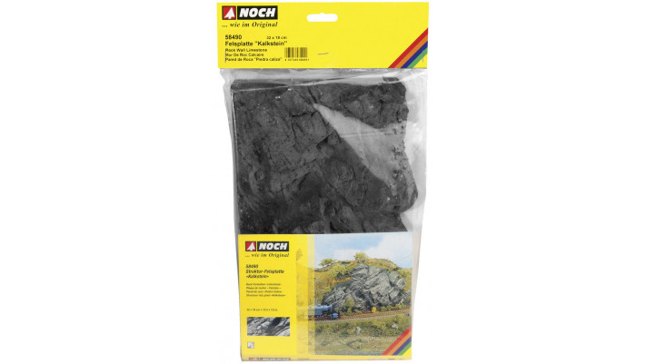 Plaque de rochers Calcaire