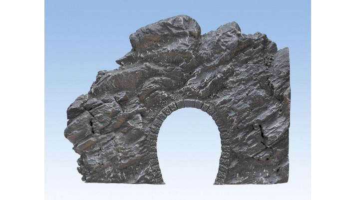 Entrée de tunnel rocheuse Dolomite, 24,5 x 19 cm