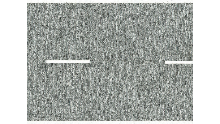 Grande route, gris