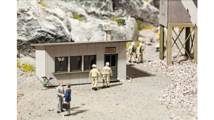 Baraque de chantier
