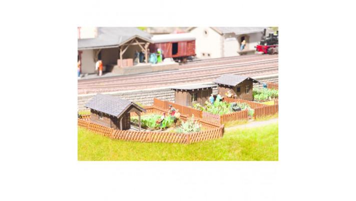 Jardin familial en kit 3 pcs.