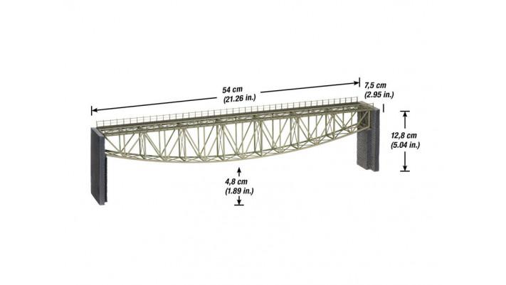 Pont à arc inversé