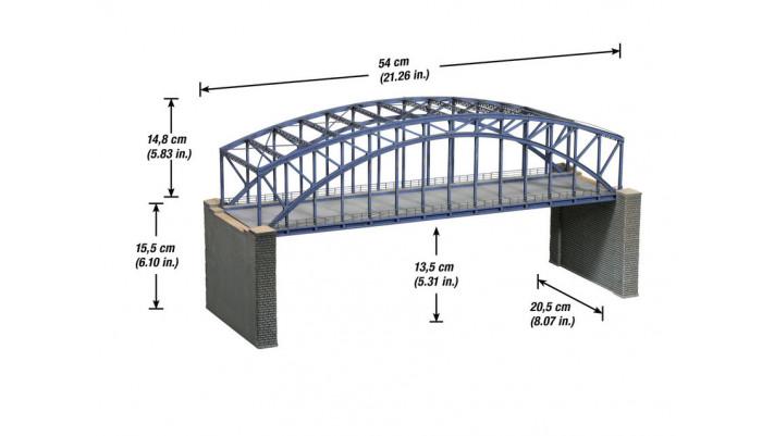 Pont en arc double voie, kit
