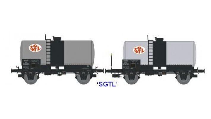 N  CITERNES Soudée OCEM 29 Ep.III SET de 2 Wagons SGTL