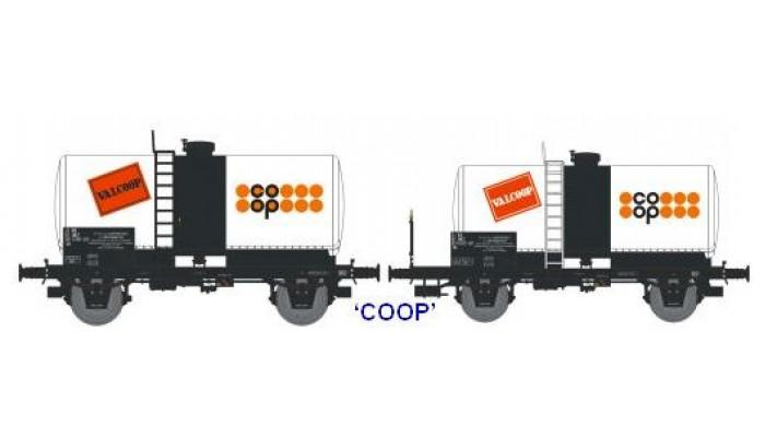 N  CITERNES Soudée OCEM 29 Ep.IV SET de 2 Wagons   COOP