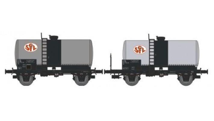 N  CITERNES Soudée OCEM 29 Ep.IV SET de 2 Wagons SGTL
